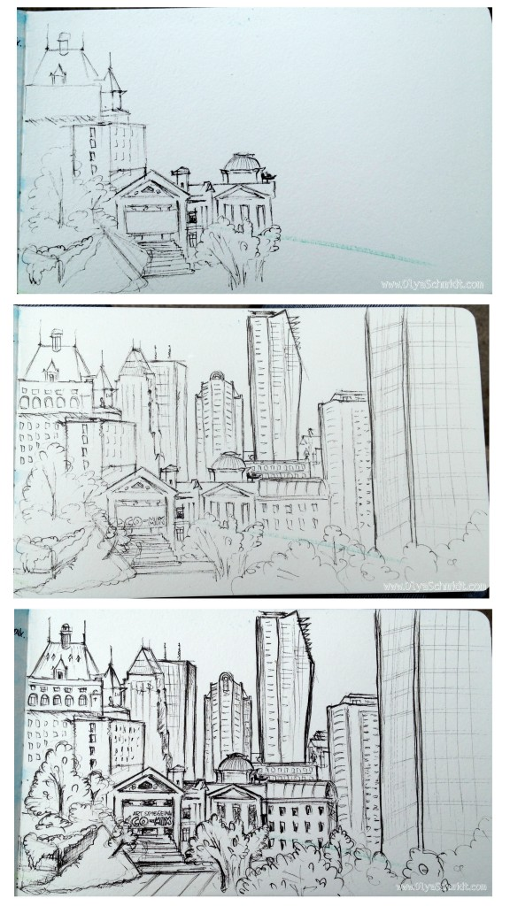 Downtown sketch