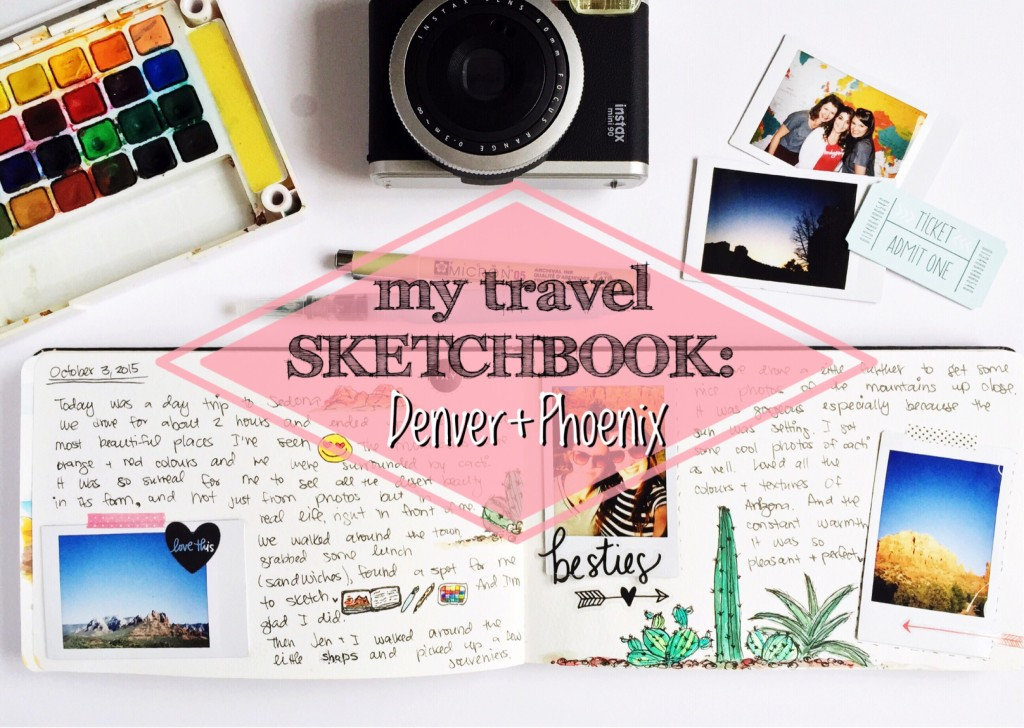 travel.sketchbook.Denver.Phoenix_OlyaSchmidt.com