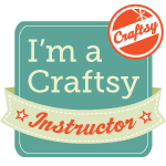 I'm a Craftsy Instructor