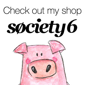 Check out my shop at Society6!
